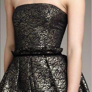 Rachel Zoe Strapless Bubble Dress